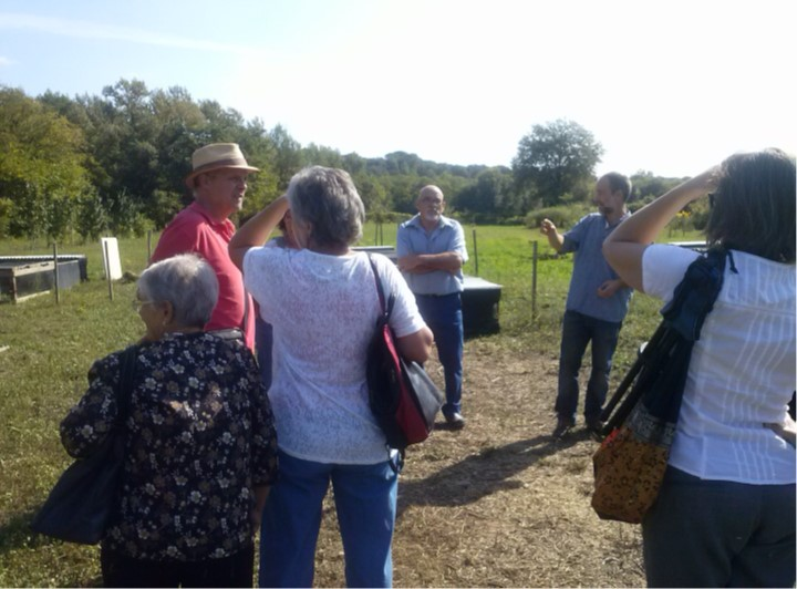 VISIT TO PLANESES OF A GROUP OF PARENTS OF A SCHOOL OF BANYOLES