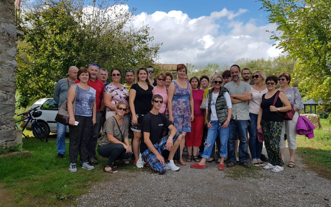 VISIT OF A GROUP OF LATVIAN FARMERS TO PLANESES