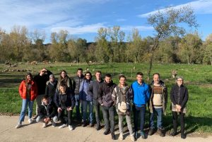 STUDENTS OF THE UNIVERSITY OF GIRONA ENJOY A COURSE ON THE POLYFARMING SYSTEM IN PLANESES