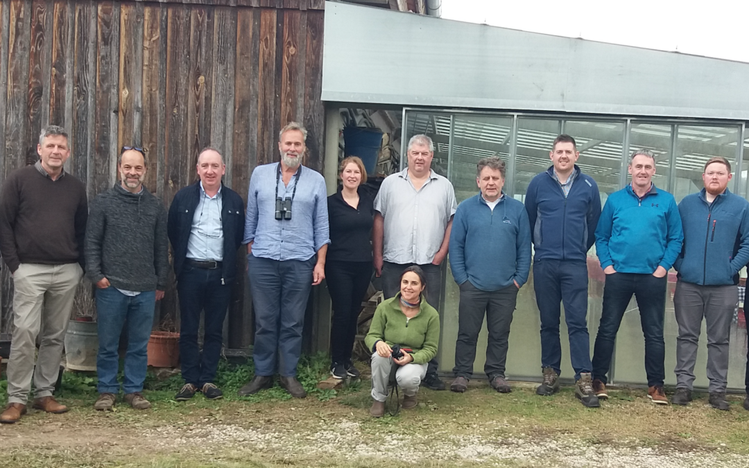 THE INNOVATION GROUP OF THE EUROPEAN FORUM FOR NATURE CONSERVATION AND PASTORALISM VISIT PLANESES