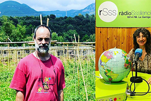 MARC GRÀCIA EXPLAINS POLYFARMING AT THE 'MÓN SOSTENIBLE' RADIO PROGRAM